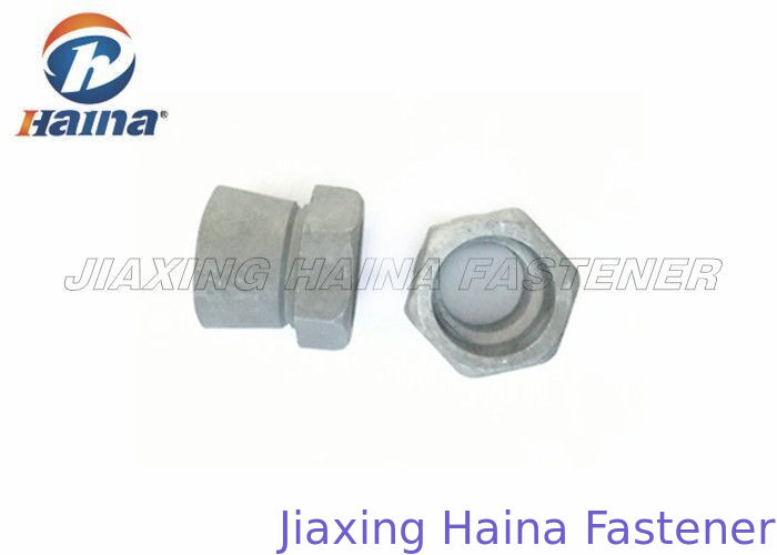 Security Shear Nuts Hot Dip Galvanized M10x19x12.5mm Grade 8.8 in Stock